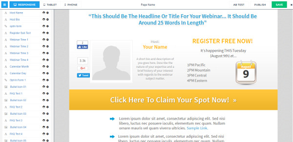 Leadpages Ad Mapping