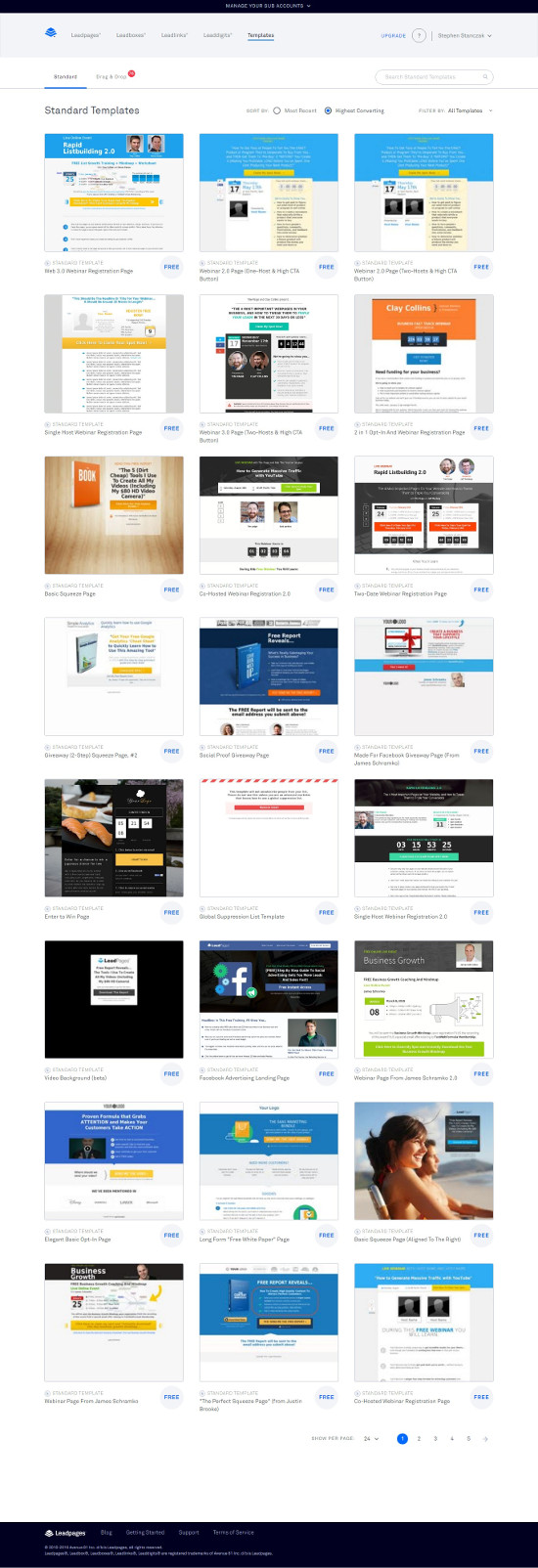 Slideshow In Leadpages