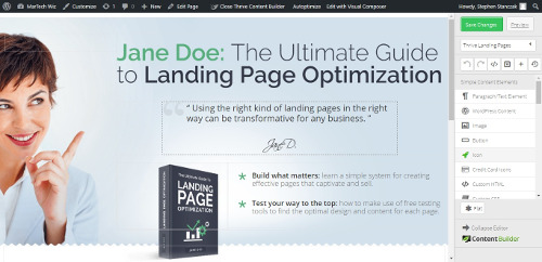 Thrive-Landing-Pages-Editor