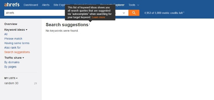 ahrefs-no-suggestions