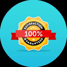 40-day guarantee badge