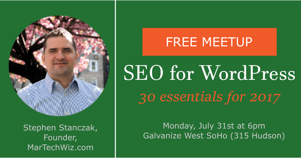 SEO-WordPress-meetup