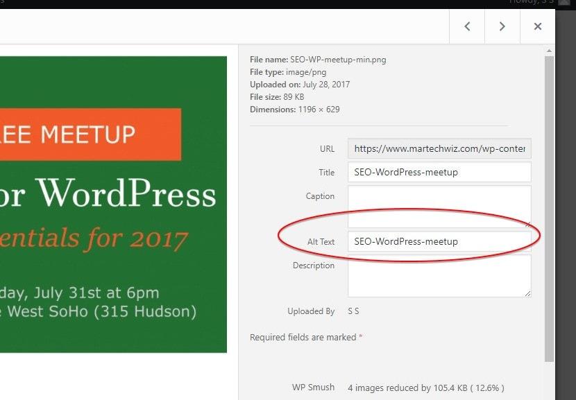 wordpress-image-alt-text