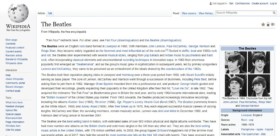 beatles-wikipedia