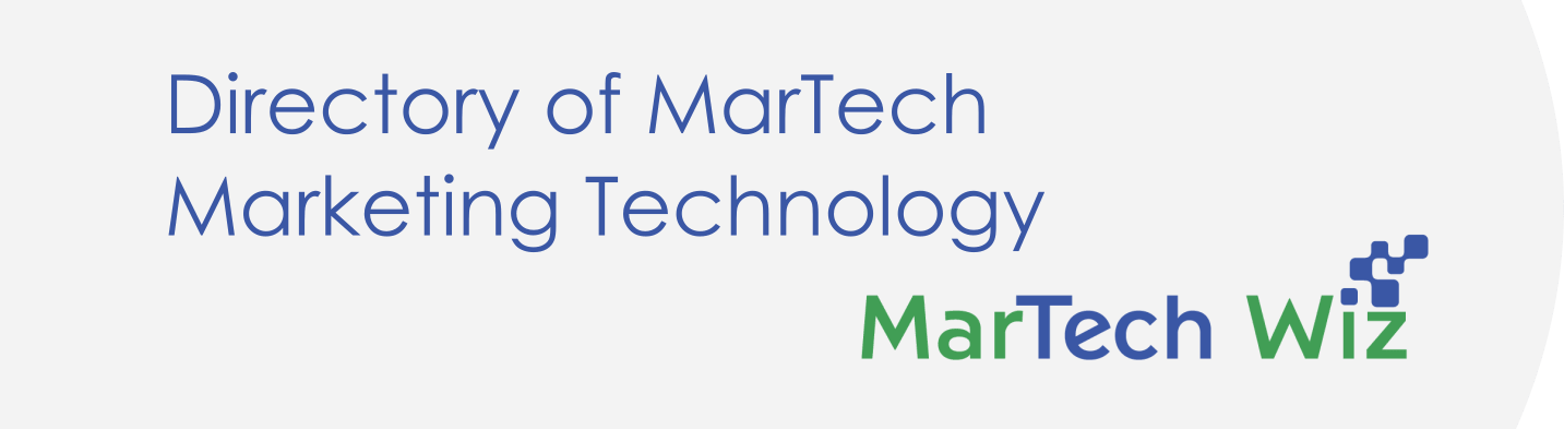 Submission Form for MarTech Wiz Directory of Marketing Technology